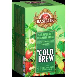 COLD BREW - STRAWBERRY CUCUMBER & MINT w saszetkach - 20 x 2 g