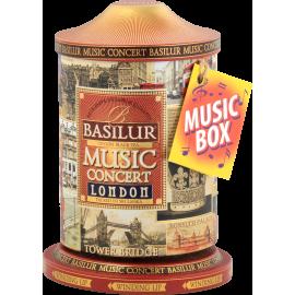 MUSIC CONCERT LONDON puszka z pozytywką 100g