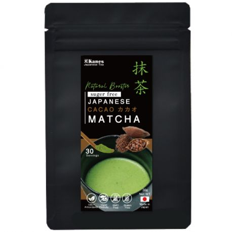 Cacao Matcha Organic- japońska zielona herbata - 30g