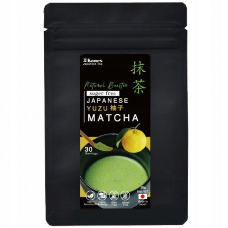 Yuzu Matcha Organic- japońska zielona herbata - 30g