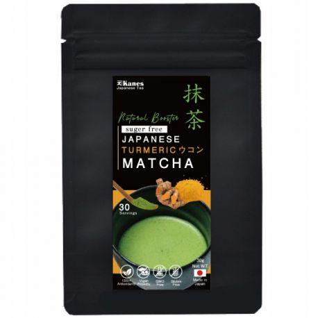 Turmeric Matcha Organic- japońska zielona herbata - 30g