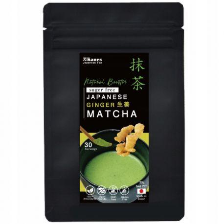 Ginger Matcha Organic- japońska zielona herbata - 30g