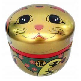 Japońska Zielona Herbata Hojicha - Puszka Kot - 50g
