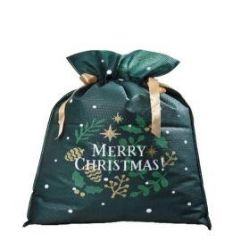 Worek prezentowy - Świąteczny Stroik 30x45
