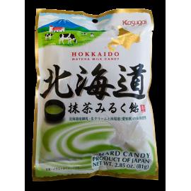 Mleczne karmelki z zieloną herbatą matcha - torebka 81g