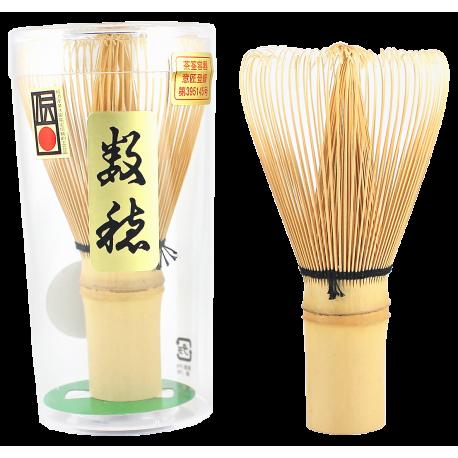 Japoński bambusowy pędzelek do matcha