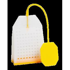 Zaparzacz silikonowy - żółta torebka