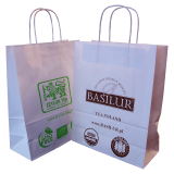Torba prezentowa Basilur - Biała Mała