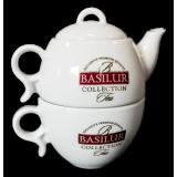 Porcelanowy Zestaw Basilur 2w1 - 200ml