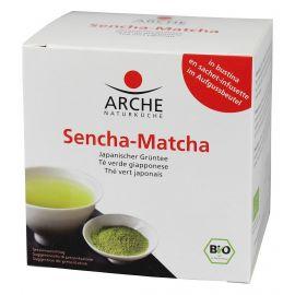 Herbata Sencha-Matcha Bio - ekspresowa 10x1,5g