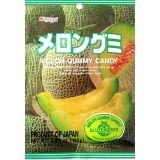 Japońskie żelki o smaku melona - torebka 107g