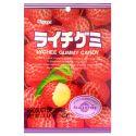 Japońskie żelki o smaku liczi - torebka 107g