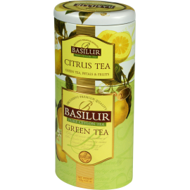 CITRUS TEA & GREEN TEA w puszce 125g