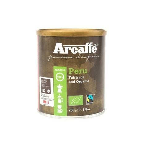 Arcaffe - Peru Gairtrade and Organic 100% Arabica - 250g