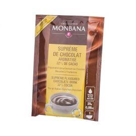 Monbana czekolada rozpuszczalna o smaku pomarańczowym - saszetka 25g
