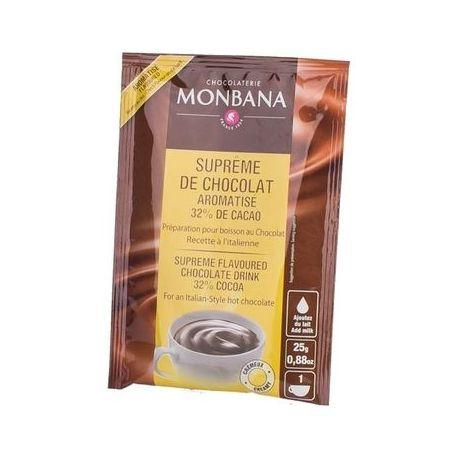 Monbana-czekolada rozpuszczalna o smaku pomarańczowym - 25g