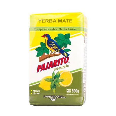 Yerba Mate Pajarito Menta Limon - 500g