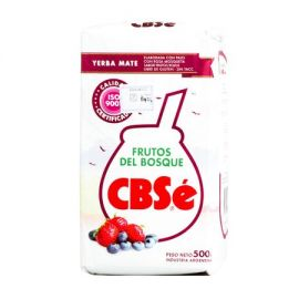 Yerba Mate CBSe Frutos del Bosque - 500g