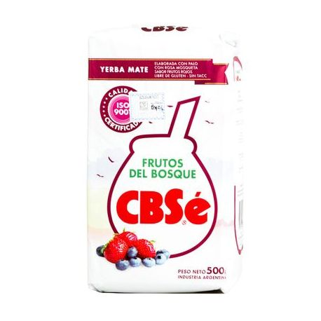 Yerba Mate CBSe Frutos del Bosque -500g