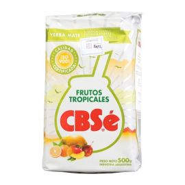 Yerba Mate CBSe Fructos Tropicales - 500g