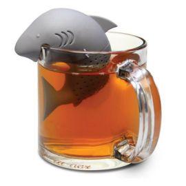 Zaparzacz do herbaty silikonowy - rekin