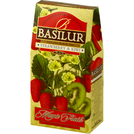 STRAWBERRY & KIWI stożek 100g