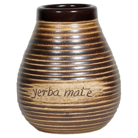 Matero gliniane Algarroboe z napisem