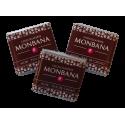 Monbana 3 Czekoladki - Noir - 70% de cacao