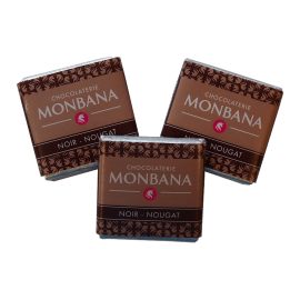 Monbana 3 Czekoladki - Noir - Nougat