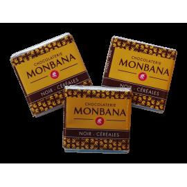 Monbana 3 Czekoladki - Noir - Cereales