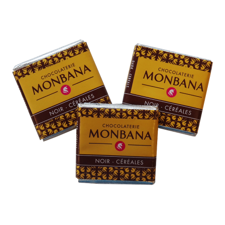 Monbana Czekoladka - Noir - Nougat