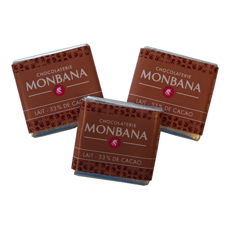 Monbana Czekoladka - Lait - Caramel