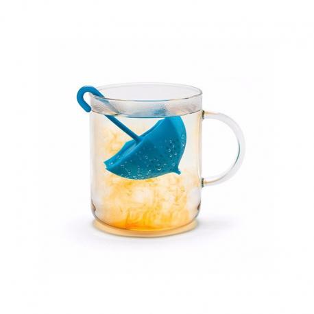 Zaparzacz do herbaty - niebieska parasolka