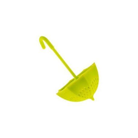 Zaparzacz do herbaty - zielona parasolka