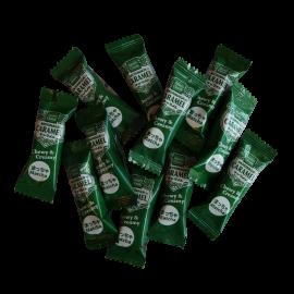Cukierki karmelowe z dodatkiem zielonej herbaty Matcha