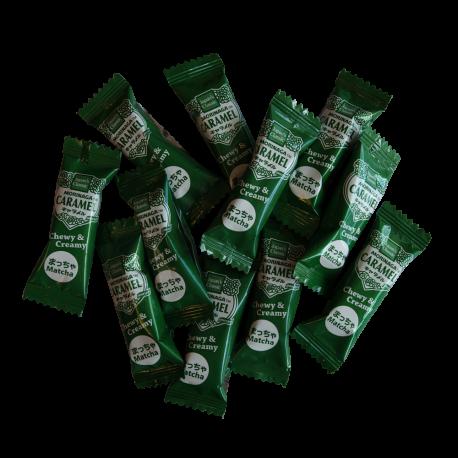 Cukierki karmelowe z dodatkiem herbaty Matcha 44,4g