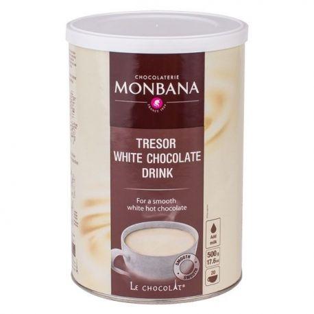 Monbana Tresor White Chocolate - 500g