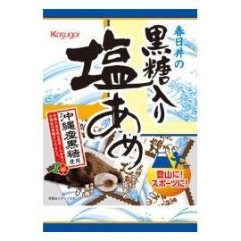 Cukierki o smaku brązowego cukru i soli - Kokuto iri shio ame 86g