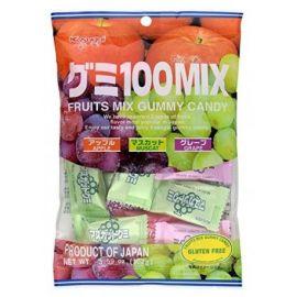 Żelki japońskie MIX Kasugai - jabłka i winogrona - 102g