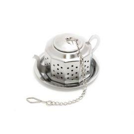 Zaparzacz do herbaty - kwadratowy imbryczek - 3,5 cm