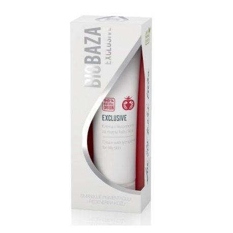 BIOBAZA EXCLUSIVE - krem z likopenem dla skóry tłustej - 50ml