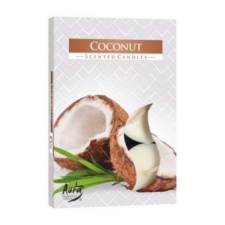 Podgrzewacz zapachowy - kokos 6szt