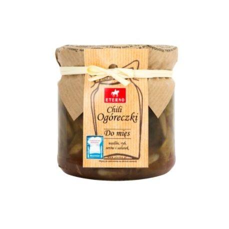 Ogóreczki chili - słoiczek