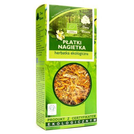 Herbatka z płatków nagietka 25g - Dary Natury