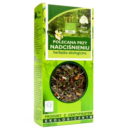 Herbatka polecana przy nadciśnieniu 50g - Dary Natury