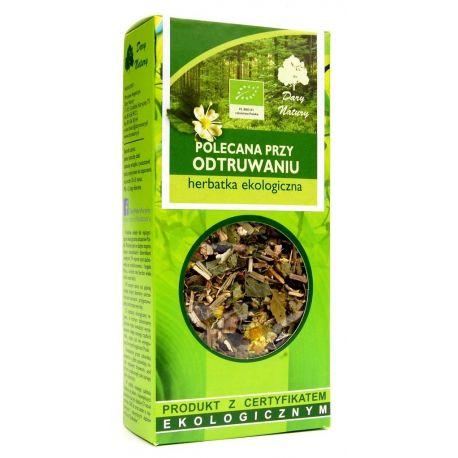 Herbatka polecana przy odtruwaniu 50g - Dary Natury
