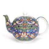 Czajnik porcelanowy Blue Strawberry Thief