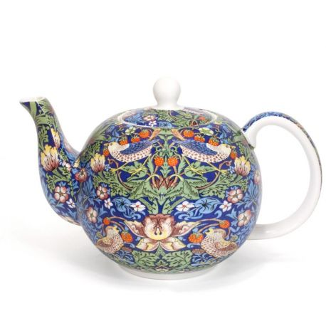 Czajnik porcelanowy Blue Strawberry Thief