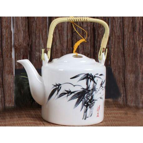 Czajnik do herbaty z uchwytem