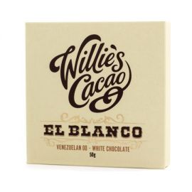 Willie's Cacao - Czekolada biała - El Blanco Wenezuela 50g